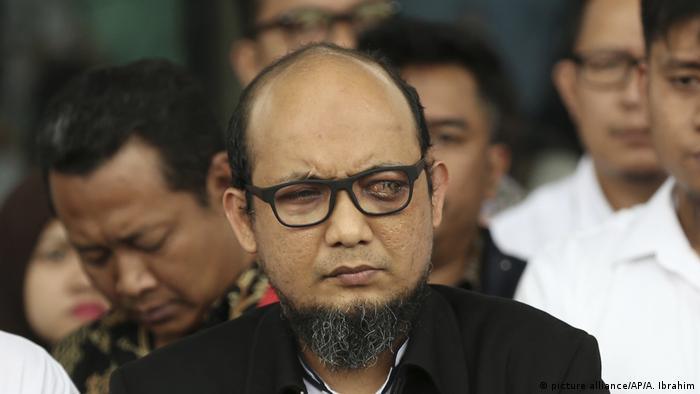Indonesischer Antikorruptionsermittler Novel Baswedan nach Säureattacke erblindet