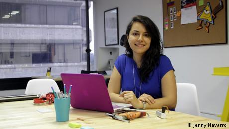 IMS Alumni Jenny Navarro bei La Posta