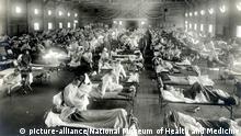 USA Grippewelle Spanische Grippe
