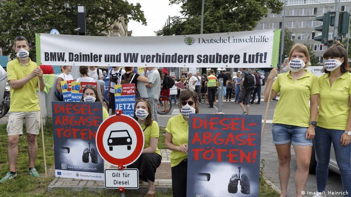 German Court Rules Cities Can Ban Diesel-Fueled Vehicles