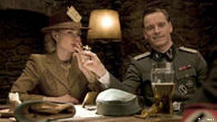 Film still from 'Inglorious Basterds' - Diane Kruger and Michael Fassbender (Universal)