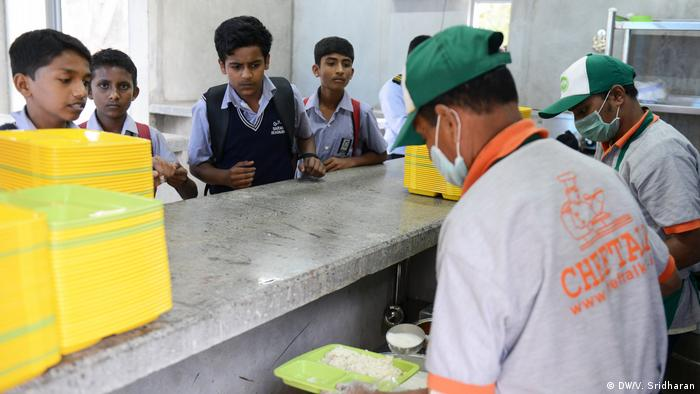 Indira Canteens in Indien