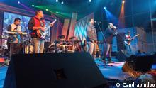 ****Achtung: Verwendung nur zur abgesprochnen Berichterstattung Chandrabindoo is one of the major band in India as well as in Bengal. They have sent their official photographs from thier facebook official page. Candrabindoo is the copyright owner of these photographs.