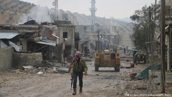 Syrien FSA Operation Olivenzweig Afrin (picture alliance/abaca/AA/H. Nasir)