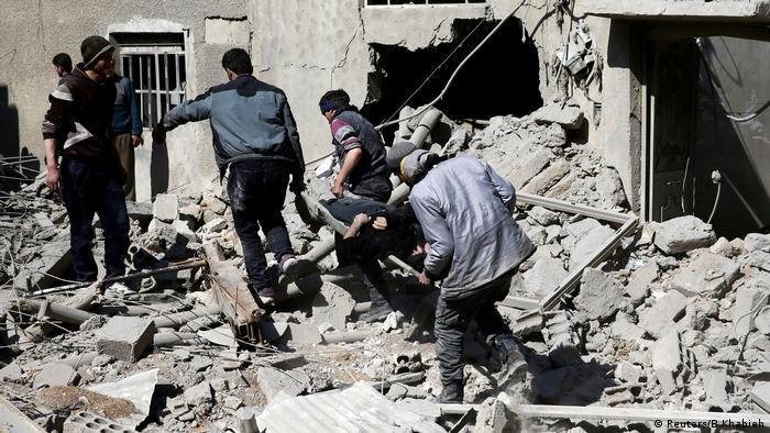 مرکل: اروپا جلوی قتلعام در سوریه را بگیرد