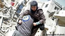 Syrien, Ghouta, Bergungsarbeiten