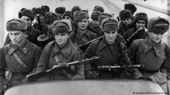 Красноармейцы в 1941 году