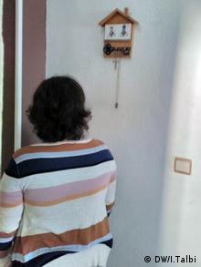 Malika wurde körperlich misshandelt und von ihrem Ehemann erpresst (DW/I.Talbi)