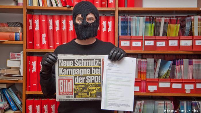 Titanic will Bild reingelegt haben - Neue Schmutzkampagne bei der SPD