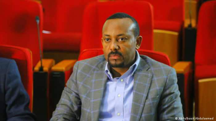 File photo of Dr. Abiy Ahmed