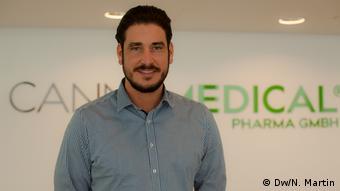 Niklas Kouparanis, Sales Manager bei Cannamedical