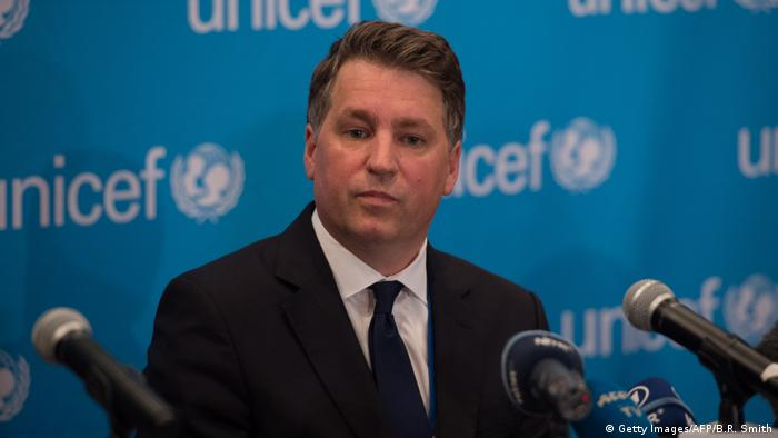 US-UNICEF Justin Forsyth (Getty Images/AFP/B.R. Smith)