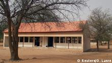 Dapchi school building empty (Reuters/O. Lanre)