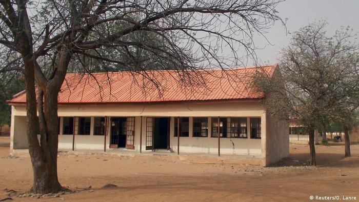 Empty school buidling in Dapchi