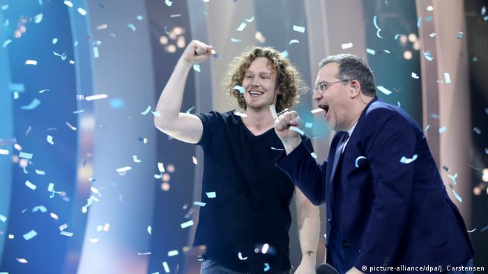 Deutscher ESC-Vorentscheid 2018 Sieger Michael Schulte (L)
