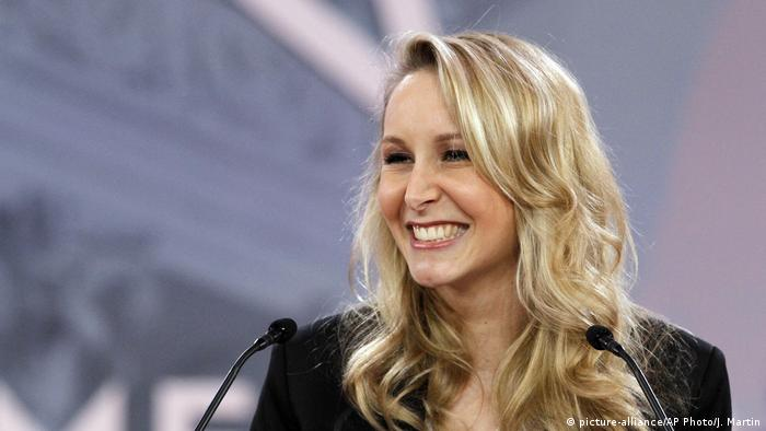 Marion Marechal-Le Pen at CPAC(picture-alliance/AP Photo/J. Martin)
