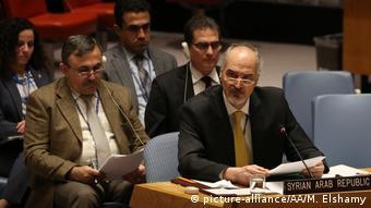 UN-Sicherheitsrat Syriens UN-Botschafter Baschar al-Dschafari