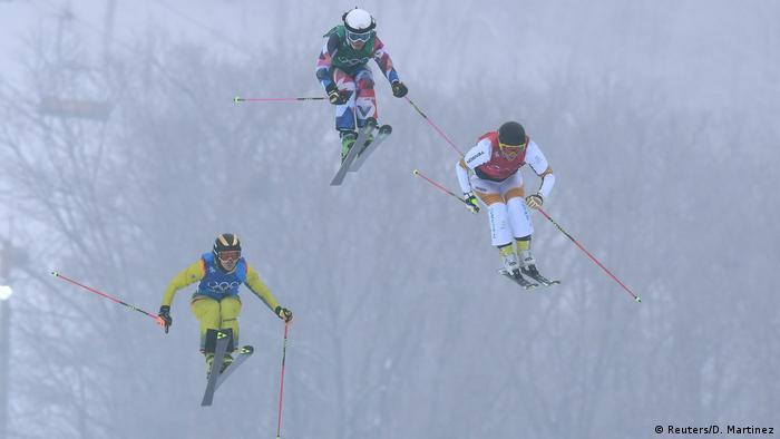 Olympische Winterspiele 2018 Julia Eichinger (L), Skicrosserin