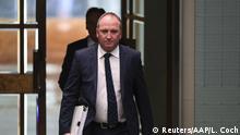 Australien stellvertretende Premierminister Barnaby Joyce Rücktritt