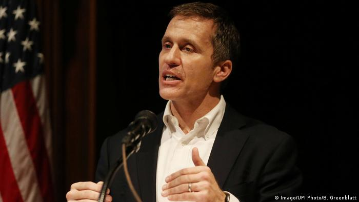 USA Missouri-Gouverneur Eric Greitens (Imago/UPI Photo/B. Greenblatt)