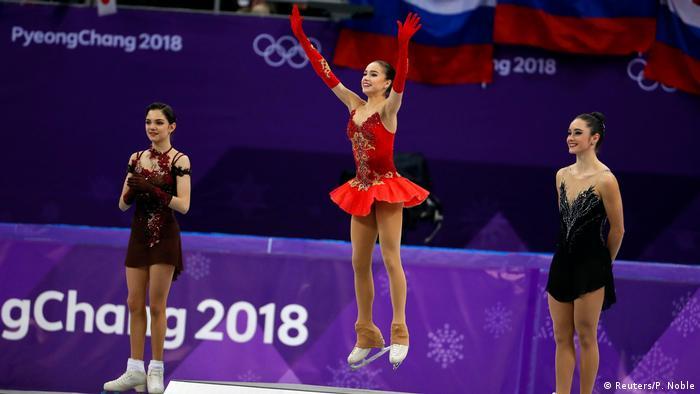 Pyeongchang 2018 Olympische Winterspiele Eiskunstlauf Alina Zagitova