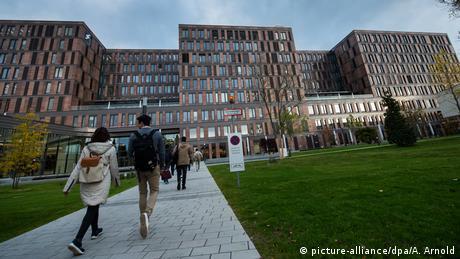 Wirtschaftsuniversität Frankfurt (picture-alliance/dpa/A. Arnold)