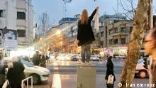 Iran Frauen Hijab Zwanskoptuch