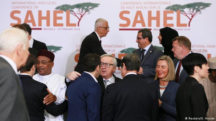 Belgien Geberkonferenz G5 Sahel