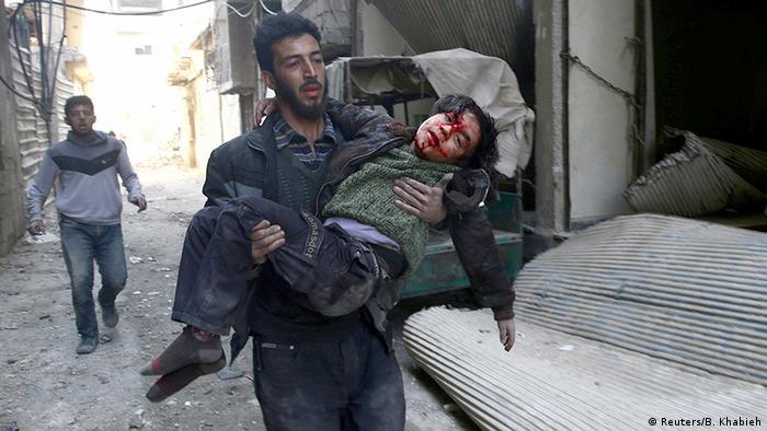 Syrien Kampf um Ost-Ghouta (Reuters/B. Khabieh)