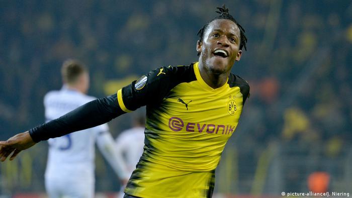 Fussball Bundesliga - Dortmund Spieler Michy Batshuayi