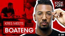 DW kick off - Kres und Boateng im Gespräch - Wochenteaser_Boateng_DW