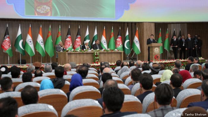 Afghanistan TAPI - Treffen von Politiker aus Afghanistan, Turkmenistan, Pakistan und Indien (DW/S. Tanha Shokran)