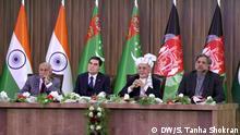 Afghanistan TAPI - Treffen von Politiker aus Afghanistan, Turkmenistan, Pakistan und Indien
