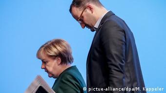 Канцлер и ее будущий министр здравоохранения