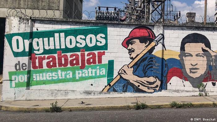 Venezuela Stadtviertel 23 de Enero in Caracas