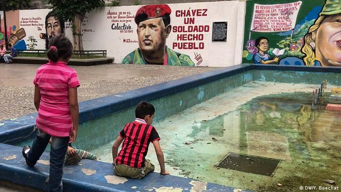 Venezuela Stadtviertel 23 de Enero in Caracas (DW/Y. Boechat)