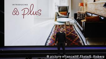 Airbnb Gründer Brian Chesky | Vorstellung Airbnb Plus (picture-alliance/AP Photo/E. Risberg)