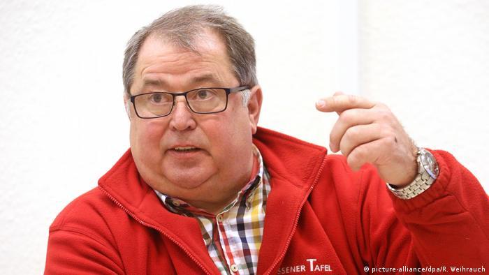 Deutschland Essener Tafel   Jörg Sartor, Vorsitzender