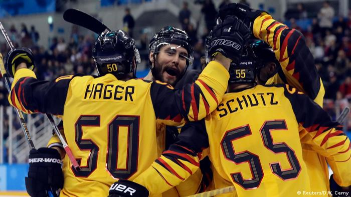 Olympische Winterspiele 2018 in Südkorea   Eishockey Kanada vs. Deutschland