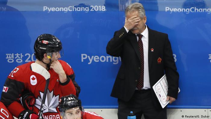 Olympische Winterspiele 2018 in Südkorea   Eishockey Kanada vs. Deutschland   Willie Desjardins