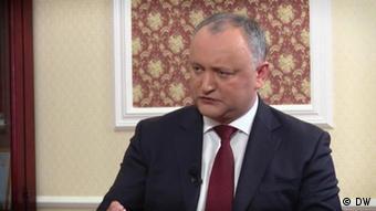 Президент Молдавии Додон