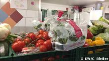 Frisches Gemüse im Ausgaberaum der Essener Tafel Quelle: C. Bleiker, DW.