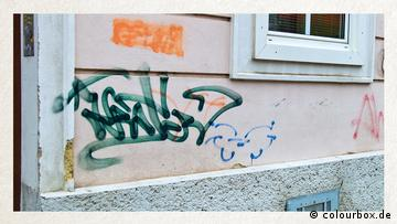 Deutschkurse | Wortschatz | BFS | WBS_Foto_Graffiti