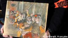 Frankreich Gemälde von Edgar Degas, Les Choristes