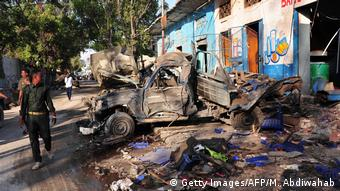 Somalia Mogadischu Terror Anschlag