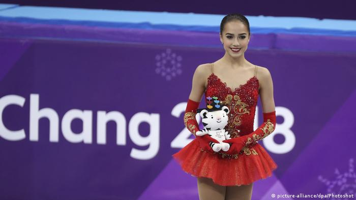 Alina Zagitova of Russia at the PyeongChang Winter Olympic Games in South Korea (picture-alliance/dpa/Photoshot)