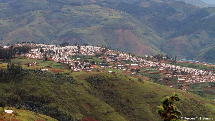 Kibiza refugee camp in Rwanda