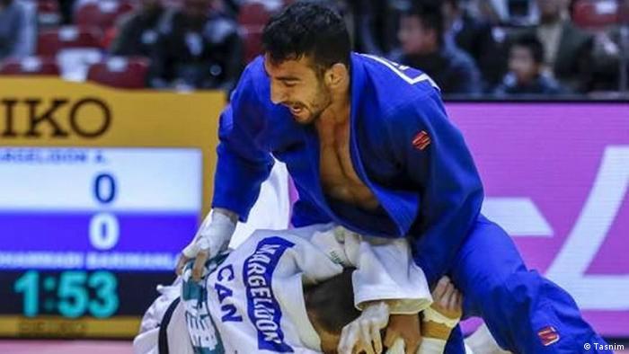 Iran Mohammadi Barimanloo, Judo (Tasnim)