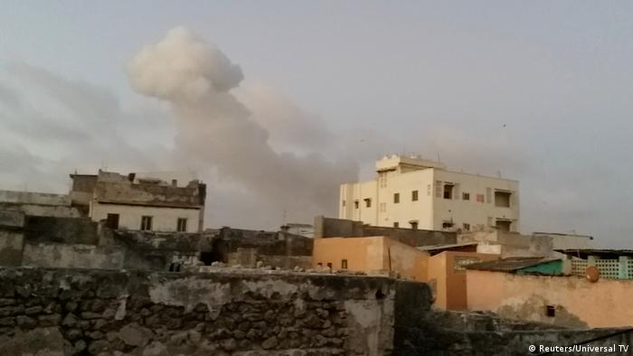 Somalia Mogadischu Autobomben Anschlag