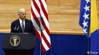 US-Vizepräsident Joe Biden in Bosnien-Herzegowina